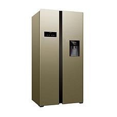 达米尼时尚水吧612L对开门冰箱