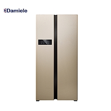 达米尼453L安妮款对开门冰箱