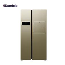 達米尼610L大吧臺變頻冰箱