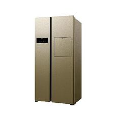 达米尼518L变频吧台对开门冰箱
