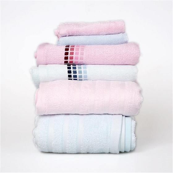 现代竹纤维毛巾组合