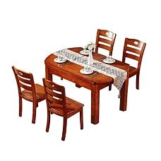 富阁新中式奢华家具餐厅套组