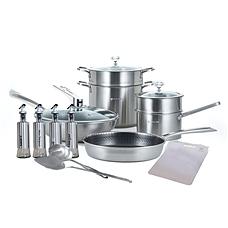 戴姆勒5D鐳射鉆石鍋具尊享組