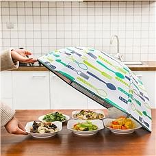 利茸伞形折叠保温菜罩2件装