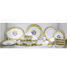 国瓷《蝶恋花》珐琅彩60头餐具
