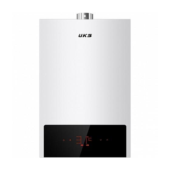 德国UKS智能恒温热水器16L