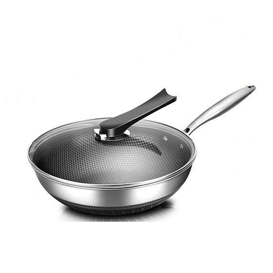 德國卡洛萊全鋼精雕微刻不粘鍋