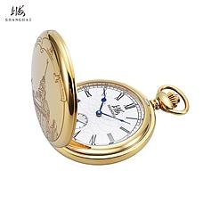 上海牌江海关大钟纪念版怀表