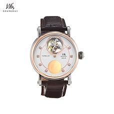 上海牌金犬纳福限量飞轮钻石腕表