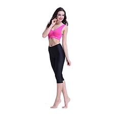 芭比韩版夏装冰丝七分裤4件