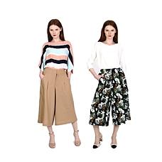 KEEFE夏日风情时尚裙裤