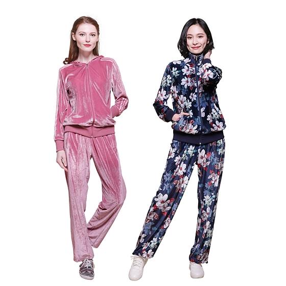 KEEFE金鉆絨時尚運動女士套裝