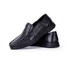 凱撒男士休閑牛皮鞋
