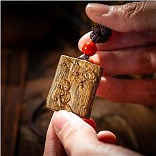自然造化奇楠沉香精品挂件
