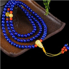 108颗南红玛瑙珠链