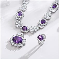 紫气东来奢华紫水晶珍藏组