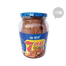 7道鲜香酥带鱼罐头装