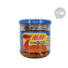 7道鲜小黄鱼罐头装