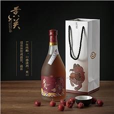 黄关红运5年清爽型半甜黄酒