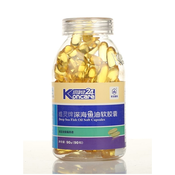 華北制藥維靈牌深海魚油軟膠囊